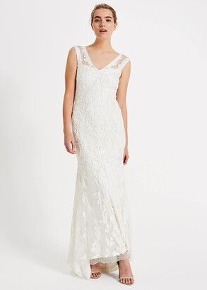 Phase Eight Valerie Tapework Lace Wedding Dress