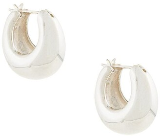 E.m. Hinged Back Earrings