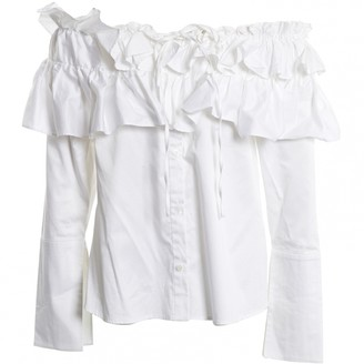 Opening Ceremony White Cotton Tops