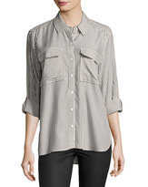 Vince Camuto Long-Sleeve Stripe Button-Down Shirt