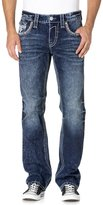 Rock Revival Mens Casey J400 Straight Jeans