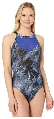 TYR Storm Eva One-Piece (Blue) Women's Swimsuits One Piece