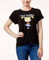 Freeze 24-7 Juniors' Rugrats Not Today High-Low Graphic T-Shirt