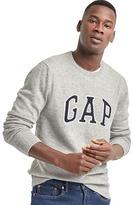Gap Merino wool blend intarsia logo sweater