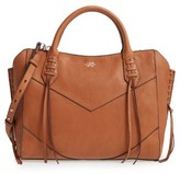 Vince Camuto Fargo Leather Satchel - Brown