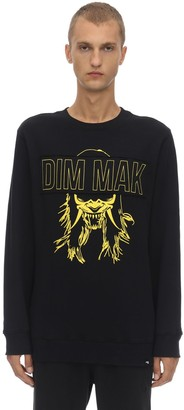 Dim Mak Demon Mask Cotton Sweatshirt