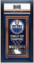Stanley Edmonton Oilers Cup Champions Framed Wall Art