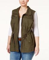 American Rag Trendy Plus Size Utility Vest
