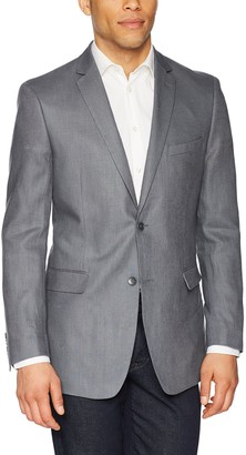 U.S. Polo Assn. Men's Linen Sport Coat Grey 40 Regular