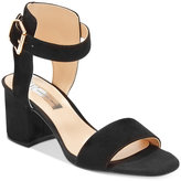 INC International Concepts Women's Hallena Block-Heel Dress Sandals, Created for Macy's