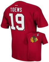 Reebok Men's Chicago Blackhawks Jonathan Toews Player Tee - Men