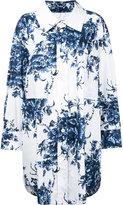 Sonia Rykiel printed shirt dress - women - Cotton - 36
