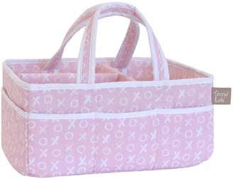 Trend Lab Pink XOXO Storage Caddy