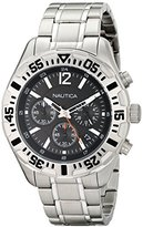 Nautica Men's N19628G NST 402 Analog Display Quartz Silver Watch