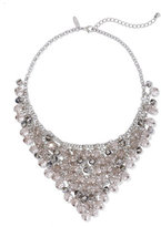 New York & Co. Triangular Beaded Bib Necklace