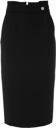 Egrey Straight Midi Skirt