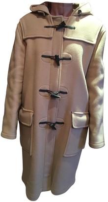Gloverall Beige Wool Coat for Women