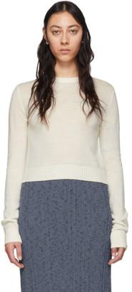 Jil Sander Off-White Jil Sanderand Crewneck Sweater