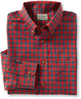 L.L. Bean Men's Wrinkle-Free Mini-Tartan Shirt, Traditional Fit