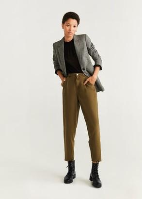 MANGO Lace-up leather boots black - 6 - Women