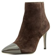 Eight 905 Pointed Toe Suede Ankle Boot.