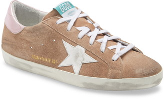 Golden Goose Superstar Low Top Suede Sneaker