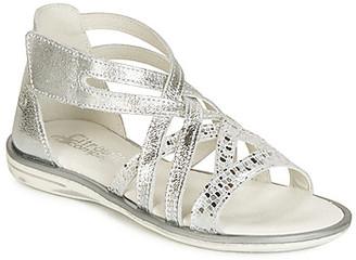 Citrouille et Compagnie JAGAFA girls's Sandals in Silver