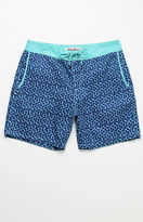 Mr.Swim Mr Swim Half Hex Swim Trunks