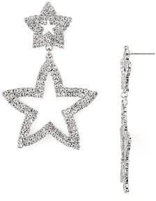 Aqua Open Star Drop Earrings - 100% Exclusive