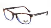 Persol Tortoise & Blue Square Eyeglasses