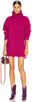 Acne Studios Turtleneck Sweater in Magenta Pink | FWRD