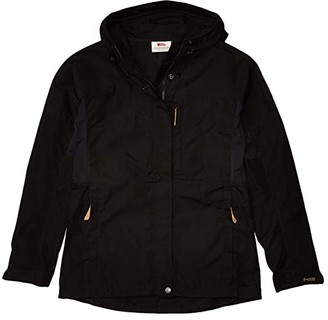 Fjallraven Kaipak Jacket (Dark Garnet/Dark Grey) Women's Clothing
