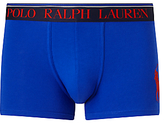 Polo Ralph Lauren Pony Logo Classic Stretch Cotton Trunks, Sapphire Blue