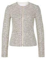 Hugo Boss Koralie Cotton Tweed Jacket 4 Patterned