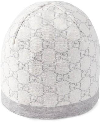 Gucci Kids Children's GG pattern wool hat
