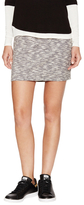 Three Dots Marled Mini Skirt