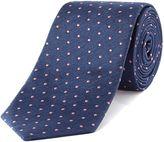 Tm Lewin Patterned Slim Tie