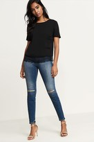 Dynamite Kate High Rise Distressed Jeans