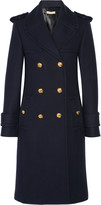 Michael Kors Double-breasted melton wool coat