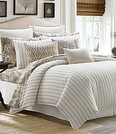 Tommy Bahama Sandy Coast Pinstriped Cotton Comforter Set