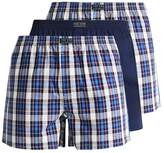 Pier One 3 Pack Boxer Shorts Blue