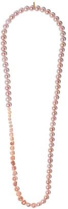 TASAKI 18kt yellow gold Sliced necklace