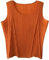 Issey Miyake Orange Top for Women