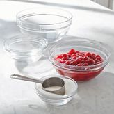 Sur La Table Duralex Lys Clear Stackable Bowls, Set of 10