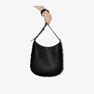 Chloé black Darryl leather shoulder bag