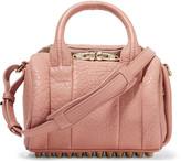 Alexander Wang Rockie textured-leather shoulder bag