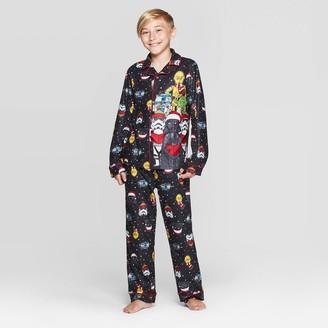 Star Wars Boy' tar War 2pc Coat Pajama et -