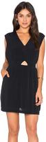 RVCA Meecrow V Neck Mini Dress