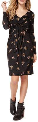 Dex Floral-Print Wrap Dress