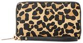 Dune Krissie Zip Around Phone Purse, Leopard